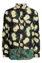 chemise a fleurs jaune homme hm fr With affiche chambre bébé avec chemise a fleur homme h m