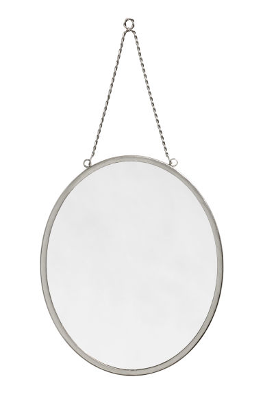 Miroir argent home all h m fr for Miroir collable