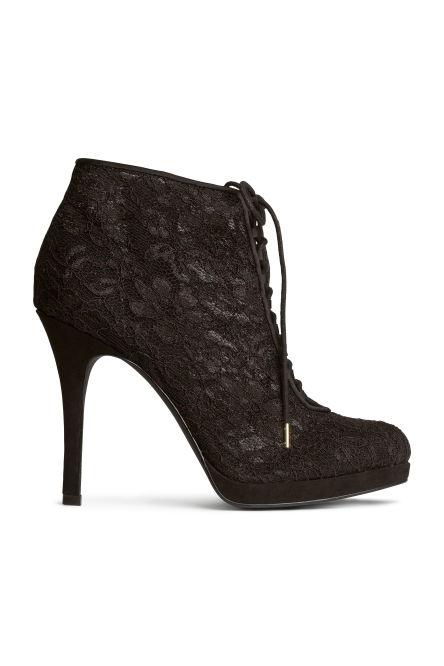 bottines chaussures femme h m. Black Bedroom Furniture Sets. Home Design Ideas