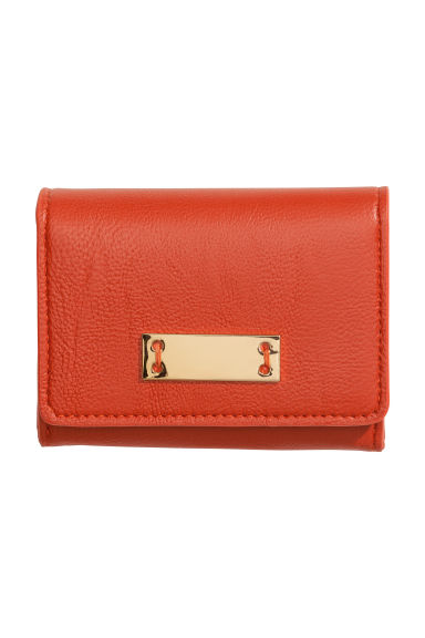 Petit porte monnaie orange femme h m fr for Porte jarretelle h m