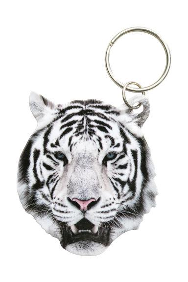 Portachiavi Tigre Donna H M It