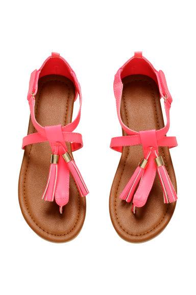Sandales Avec Pompons H M