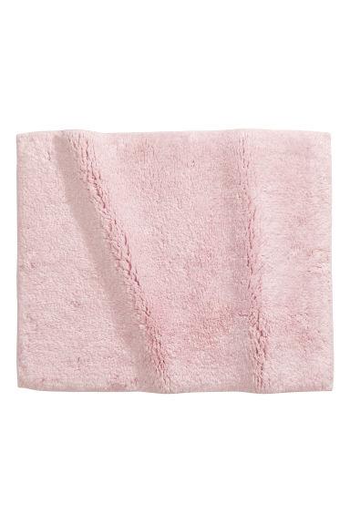 cotton terry bath mat light pink h m gb. Black Bedroom Furniture Sets. Home Design Ideas