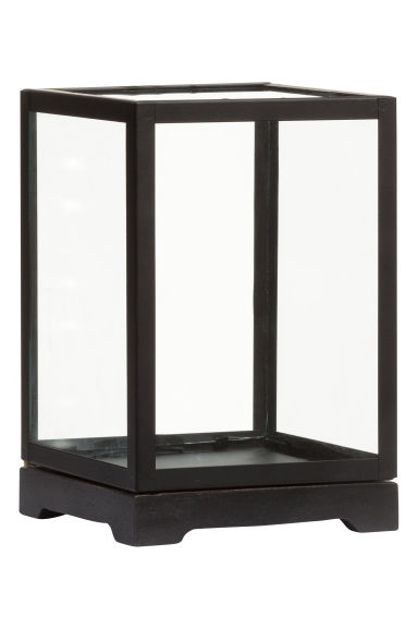 petite vitrine en verre h m. Black Bedroom Furniture Sets. Home Design Ideas