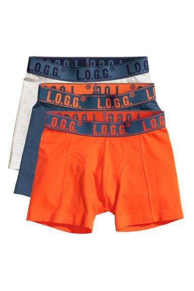 3er pack boxershorts orange kinder h m ch. Black Bedroom Furniture Sets. Home Design Ideas