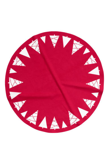 Tapis Pour Sapin De No L Rouge Home All H M Fr