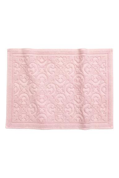 tapis de bain rose clair home all h m fr. Black Bedroom Furniture Sets. Home Design Ideas