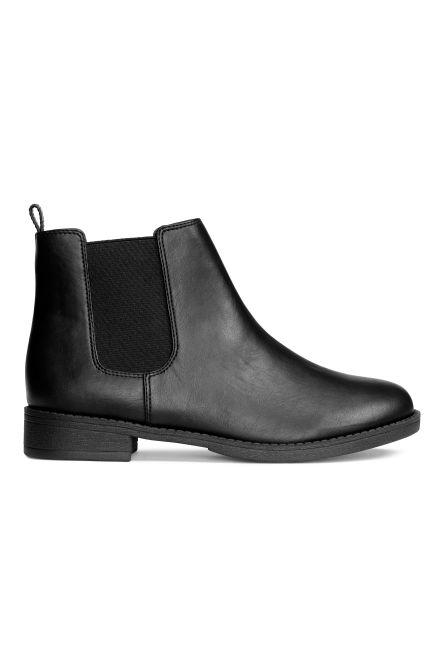 women 39 s ankle boots shop shoes for women online h m. Black Bedroom Furniture Sets. Home Design Ideas