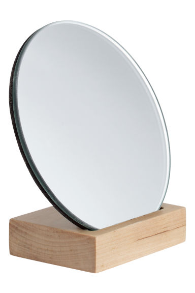 Miroir rond naturel home all h m fr for Miroir collable