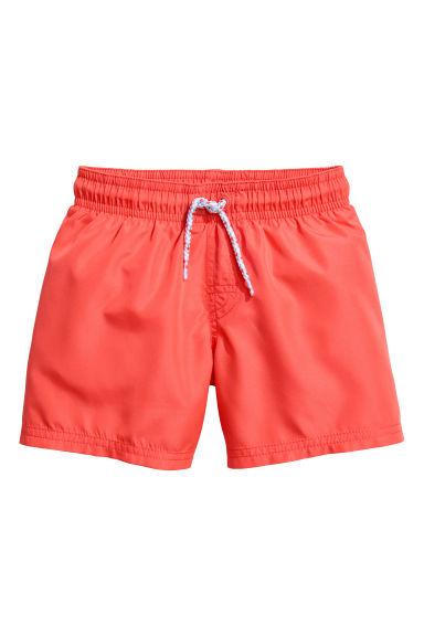 Costume da bagno rosso corallo bambino h m it - Costume da bagno bambino ...
