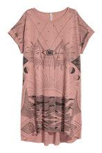 robe t shirt rose vintage femme h m fr. Black Bedroom Furniture Sets. Home Design Ideas