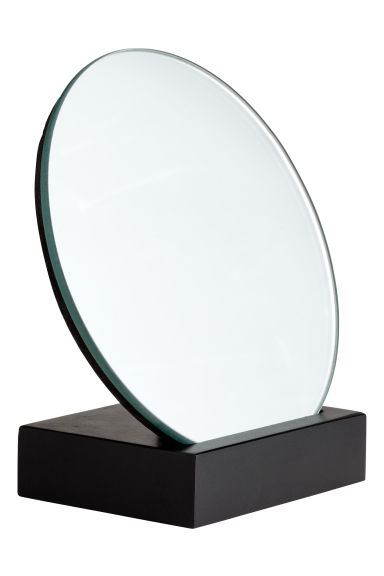 Miroir rond noir home all h m fr for Miroir collable