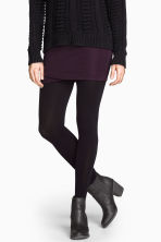 Fleece tights - Black - Ladies | H&M 5