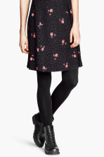 Fleece tights - Black - Ladies | H&M 6