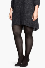 H&M+ 2-pack tights - Black - Ladies | H&M 4