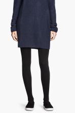 Fleece tights - Black - Ladies | H&M 4