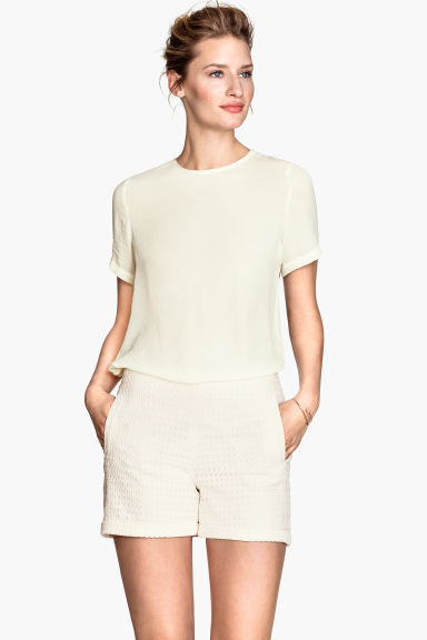 Shorts eleganti - Bianco - DONNA | H&M IT 1