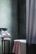 Shower curtain - Dark grey - Home All | H&M CN 1