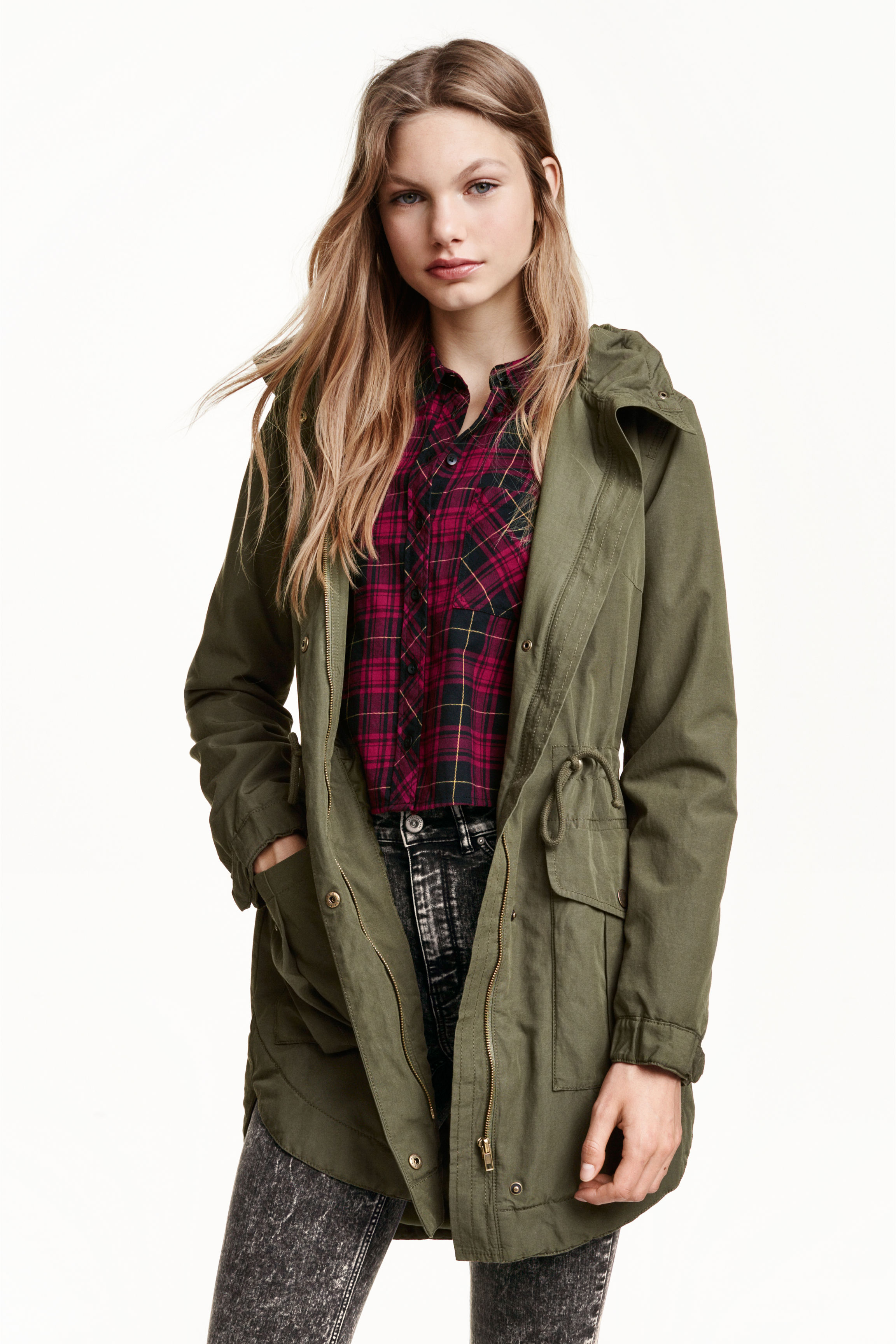 Parka - Black - Ladies | H&M GB