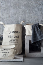 Laundry bag - Light beige - Home All | H&M GB 1