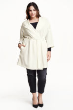 H&M+ Coat - White - Ladies | H&M CN 1
