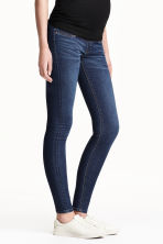 MAMA Super Skinny Jeans - Dark denim blue - Ladies | H&M 1