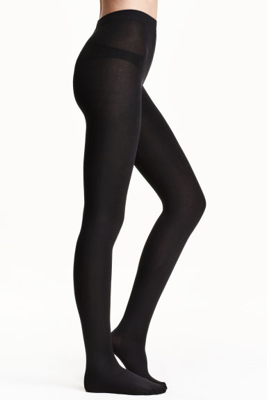 Fleece tights Model