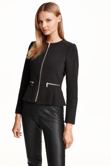Short jacket - Black - Ladies | H&M CN 1