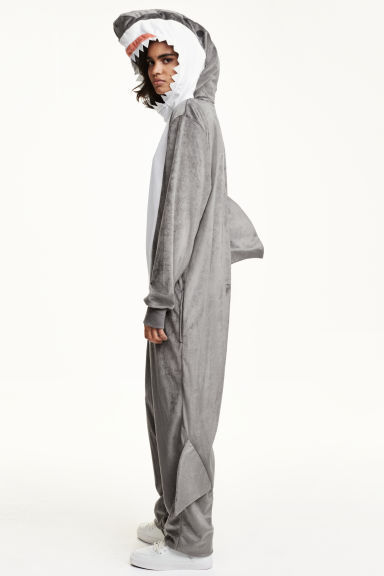 Shark costume - Grey/Shark - Ladies | H&M CN 1