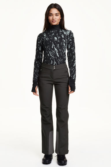 Softshell ski pants - Black - Ladies | H&M CN 1