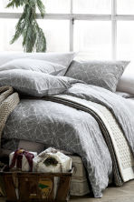 Pillowcase - Light grey - Home All | H&M CN 3
