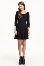 Jersey dress - Black - Ladies | H&M GB 4