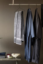 Washed linen dressing gown - Anthracite grey - Home All | H&M CA 4