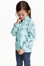 Fleece jacket - Mint green/Frozen - Kids | H&M CN 1