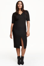 H&M+ Dress - Black - Ladies | H&M GB 1