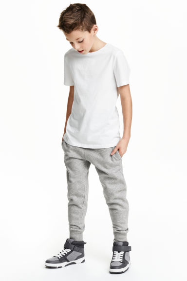 Sweatpants  - Grey - Kids | H&M CN 1