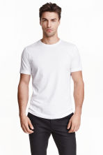 T-shirt Regular fit - Blanc - HOMME | H&M FR 3