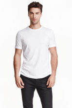 T-shirt Regular fit - Blanc - HOMME | H&M FR 4