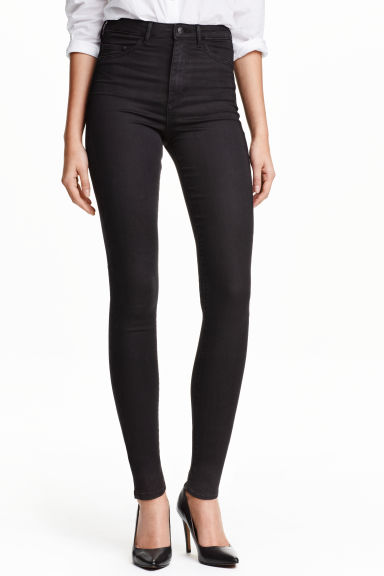 Super Skinny High Jegging - Black - Ladies | H&M GB