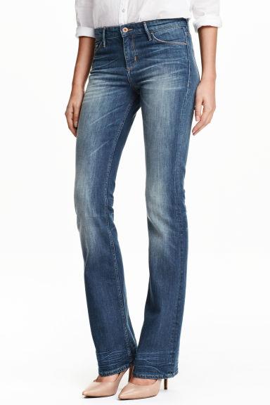 Boot cut Regular Jeans - Denim blue - Ladies | H&M GB