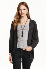 Lace cardigan - Black - Ladies | H&M 4