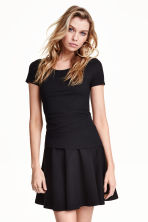 Jersey top - Black - Ladies | H&M CA 4
