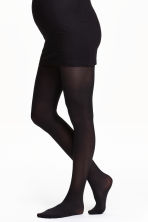 MAMA 2-pack tights 40 denier - Black - Ladies | H&M 2