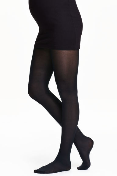 MAMA Support tights 70 denier - Black - Ladies | H&M 1