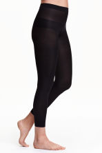 Set van 2 leggings - 60 denier - Zwart - DAMES | H&M NL 2
