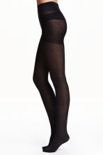 Collants Control top, pack-2 - Preto - SENHORA | H&M PT 2