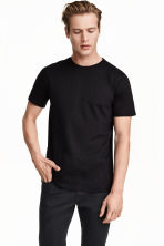 T-shirt Regular fit - Czarny - ON | H&M PL 3