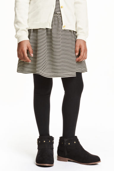 2-pack tights - Black - Kids | H&M CN 1