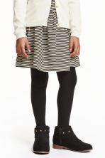 2-pack tights - Black - Kids | H&M 1