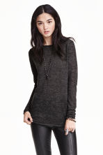 Fine-knit jumper - Dark grey -  | H&M CN 2
